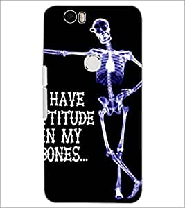 PrintDhaba Quote D-4902 Back Case Cover for HUAWEI NEXUS 6P (Multi-Coloured)