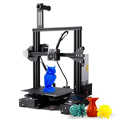 3D Drucker, Creality Ender 3 Pro 3D Printer DIY Kit Komplett 3D-Drucker Bausatz mit Auto Leveling und Wiederaufnahmefunktion, 220x220x250 mm Druckgröße, Kompatibel mit PLA TPU 1,75mm Filament