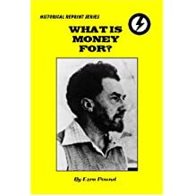 What is Money for?: A Sane Man's Guide to Economics (Historical Reprints)