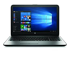 HP 15-ba044na 15.6-Inch Notebook - (Turbo Silver) (AMD A-Series 2.5 GHz Processor, 8 GB RAM, 1 TB HDD, AMD Radeon R7 Graphics Card, Windows 10)