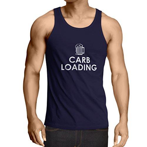 singlete-carb-loading-citations-de-fitness-drole-vetements-dentrainement-x-large-bleu-blanc