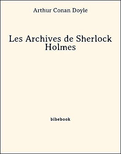 les-archives-de-sherlock-holmes