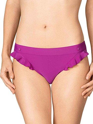 Calida Club Tropicana Bikini-Slip Damen purple wine