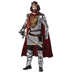JADEO Déguisement Roi Arthur pour Adultes - Large