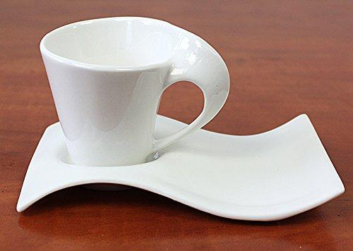 12tlg. Espresso Mocca Tassen Espresso Mocca Service Kaffeeservice (Leo014) Espresso-tasse Set