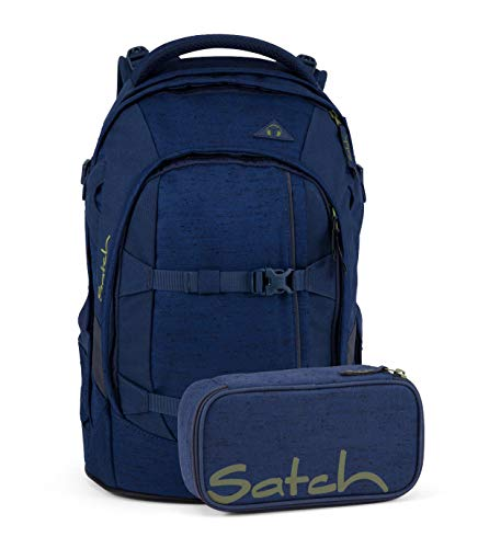 Satch Pack 2er Set Schulrucksack & Schlamperbox - Ocean Dive, 30 Liter, 1,2 kg