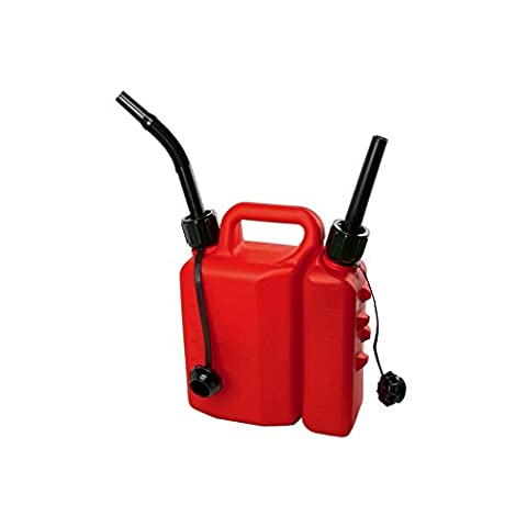Combination Can Combi Petrol 3.5 L Chain Oil 1.5 Litre Two Stroke Container NEW