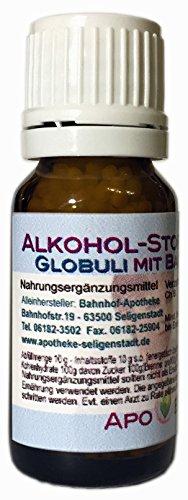 Alkohol-Stopp BioEnerg Globuli mit Bachblüten - 10 g - aus deutscher Traditionsapotheke