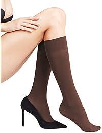 0a6f5a596 Amazon.co.uk  Beige - Knee-High Socks   Socks   Tights  Clothing