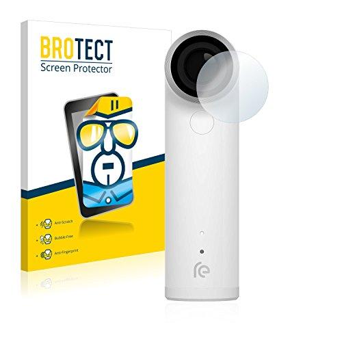 2x BROTECT Displayschutzfolie HTC RE Camera Schutzfolie Folie - Klar, Anti-Fingerprint Htc Re Kamera
