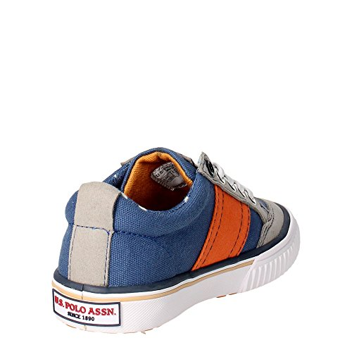 U.s. Polo Assn COMEB4226S6/CH1 Sneakers Garçon Bleu clair