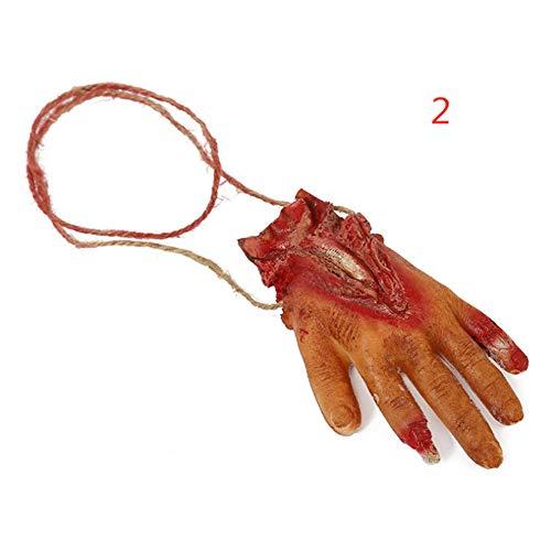 Gehirn Latex (Harddo Neuheit Halloween Horror Prop Dekoration, Halloween Bloody Horror Requisiten, Fake Latex Arm, Hand, Fuß, Herz, Gehirn, Finger, Bloody Haunted Party, Orgel)