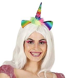 Fiestas Rudy Diadema Unicornio arcoíris,,