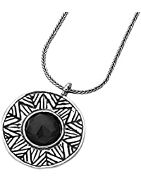 Shablool 925 Sterling Silver Black Onyx round Shape Bracelet Jewelry