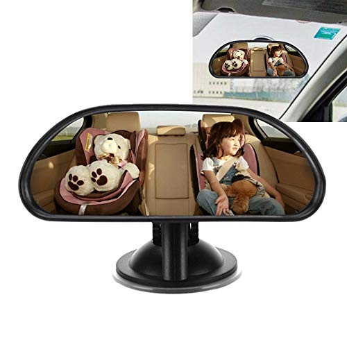 TianranRT Baby Groß Weit Kind Auto Sicherheit Zurück Sitz Spiegel Hinten Ansicht Leicht Einstellbar Breit Rücksitz Rückansicht