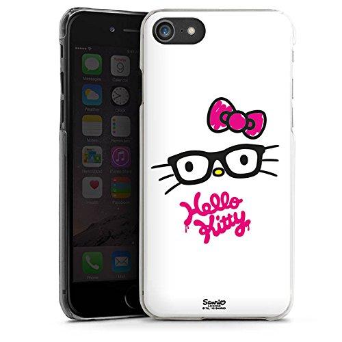 Apple iPhone X Silikon Hülle Case Schutzhülle Hello Kitty Merchandise Fanartikel Kawaii Hard Case transparent