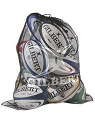 Gilbert Rugby pelota bolsa de malla fina de calidad superior Speedcell lochnerverpackung apoya 12 bolas