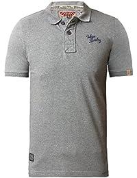 Tokyo Laundry Rochester Hommes Boutonné Décontracté Polo T-shirt