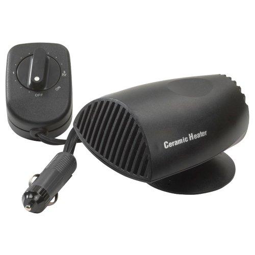 Autostyle - stufetta da auto in ceramica, elimina il ghiaccio dal parabrezza, con funzione timer, 12v/200w