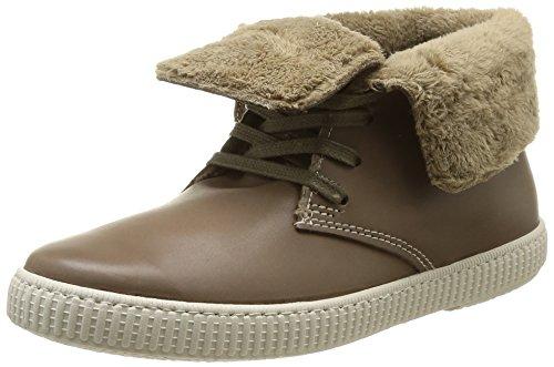 Victoria Safari Alta Piel Tintada Pelo, Chaussures montantes mixte adulte