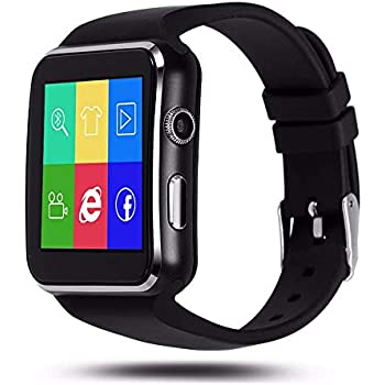 Aubess Smart Watch Sport Passometer X6 Soporte Tarjeta SIM con ...
