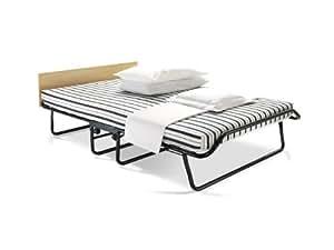 Jay be venus letto per ospiti pieghevole con doppia densit airflow mattress metallo nero - Letto pieghevole amazon ...