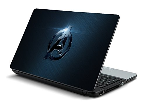 NAMO ART LargeHQ11027 Avengers Logo Skin Sticker for All Laptop and Notebook (Blue)