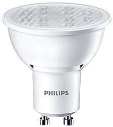 Philips 8718696483800 LED-Lampe, Kunststoff, GU10,5 W/50 W, 3000 K, Weiß, 5 Watt