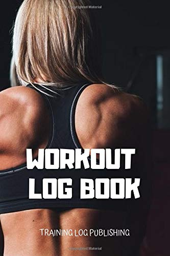 Workout Log Book: Exercise Notebook, Workout Book Tracker, Gym Workout Book, Gym Diary (Colorful & Cartoon Cover, 110 Pages, Blank, 6 x 9) por Training Log Publishing