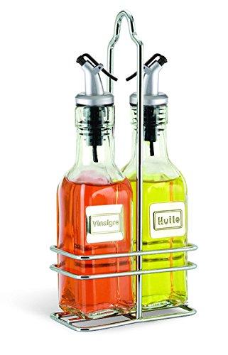 Cuisinox BOTf Cuisinox Essig und -l Flasche mit Caddy Set