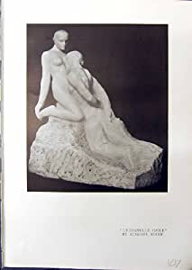 Terre cuite En Bronze de Ricketts de Statuette de L'Eternelle Idole Rodin 1914 de Sculpture