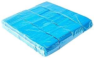 Ohfx Confetti rectangular Color azul claro (Rec-AC