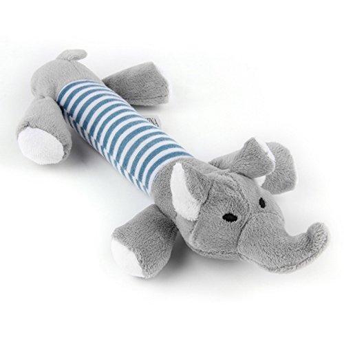 Zantec Haustier Hund Molaren Puppy Chew Squeaker Quietschendes Plüsch Sounding Spielzeug (120 Chews)