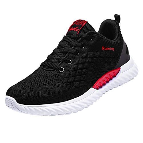 Sanahy Laufschuhe Herren Damen Sneaker Running Leichtgewicht Sportschuhe rutschfeste Outdoor Sneaker Shoes