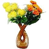 VMP Ceramic Planter/Ceramic Pots/Flower Pot/Indoor Planter/Table Top Planter/Plant Container/Flower Pot/Gamla / Stoneware H- 20 Cm