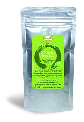 Ronnefeldt - Shincha Wakana - Japanese Green Tea – Organic - 50g - Loose-Leaf Tea