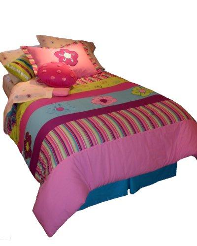 Instyle Janna Bett in einer Tasche Steppdecke, 6-teilig, hot pink, Volle Größe