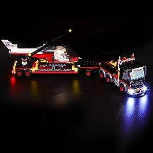 BRIKSMAX Kit di Illuminazione a LED per Lego City Trasportatore Carichi Pesanti, Compatibile con Il Modello Lego 60183…  LEGO