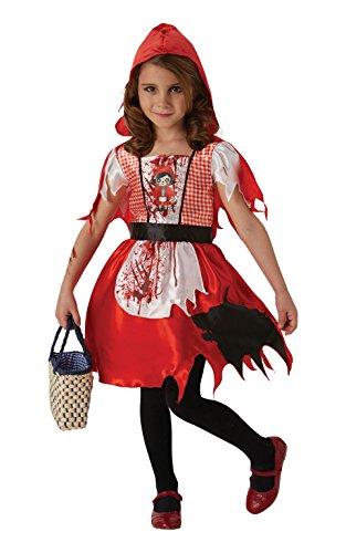 Kostüm Dead Riding Hood - Dead Riding Hood Mädchen Halloween Kostüm   Dead Riding Hood Costume