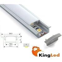 KingLed - Profilo in Alluminio da 1mt