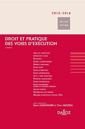 Droit et pratique des voies d'excution 2015/2016 - 8 e d.