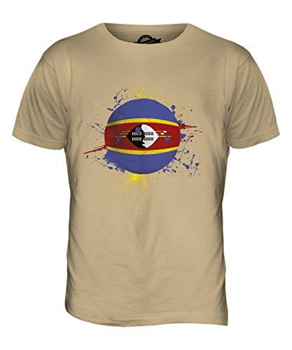 CandyMix Swasiland Fußball Herren T Shirt Sand