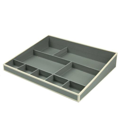 Desktop Organizer - antracite +++ Sistema di gestione per l'ufficio e la casa, ACCESSORIO per (Desktop Box)