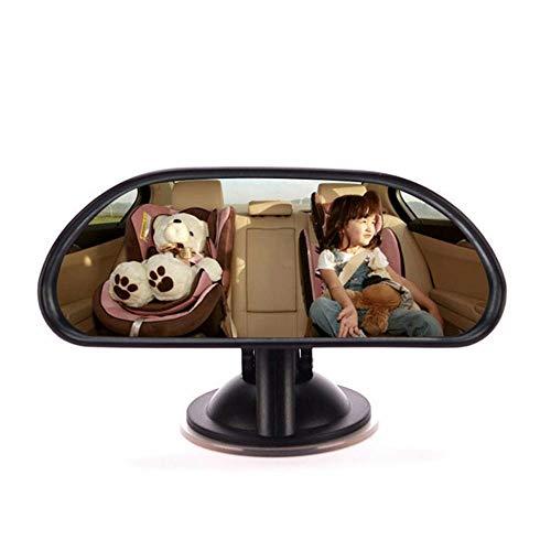 LayOPO Babyauto-Rückspiegel, Babyauto-Rückspiegel für Kleinkinder mit weitem Sichtfeld, um Jede Bewegung des Babys leicht beobachten zu können, 360-Grad-Verstellbarkeit -