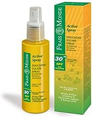 Frais Monde Active Spray Sun Lotion/Ecran Solaire SPF30...