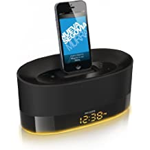 Philips DS1600/12 Sistema Docking con Altoparlanti Compatibile con iPod/ iPhone/ iPad, Nero