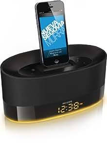 Philips DS1600 DualDock Dockingstation (für alle Apple Iphones/iPads/iPods) schwarz