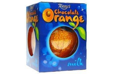 Terrys Schokolade Orange Original Kugel (Schokoladen-orangen-trüffel)