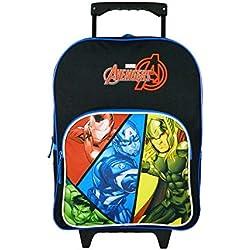 Bagtrotter Sac à Dos à roulettes Avengers Bleu Marvel BD