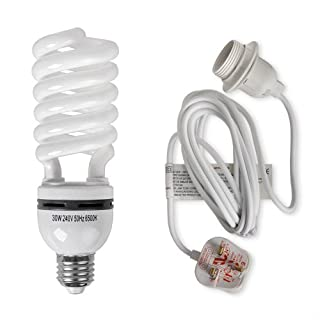 30w Hydroponics Kit Energy Saving Daylight CFL Kit System